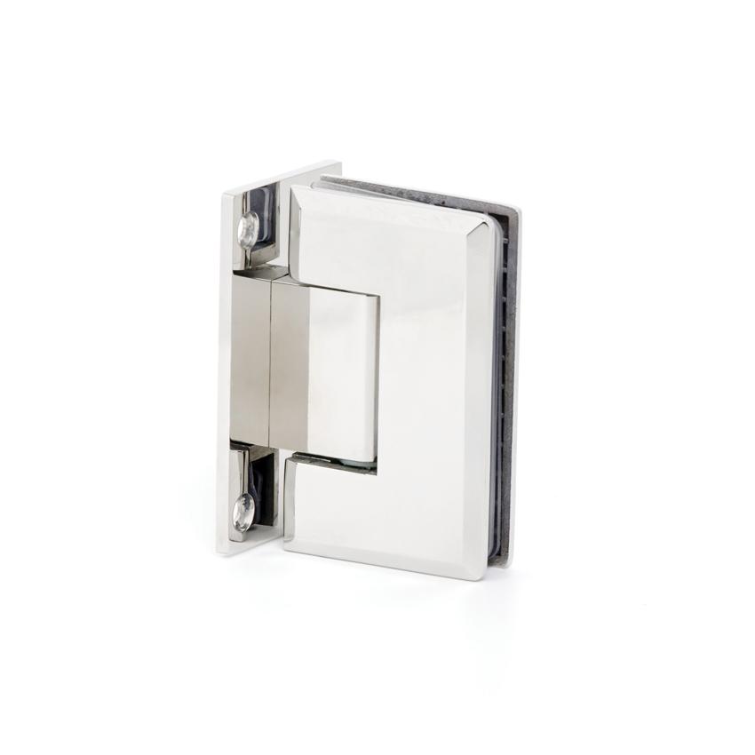 Bisagra de vidrio pared 360 jaraba - Herrajes acero inoxidable para vidrio ...